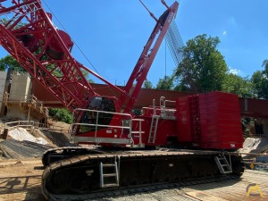 2019 Manitowoc MLC300 386-ton Lattice Boom Crawler Crane