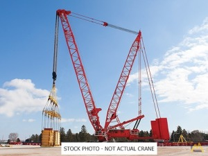 2019 Manitowoc MLC650 716-Ton Lattice Boom Crawler Crane
