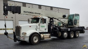 2019 National 14127A 33-Ton Boom Truck Crane Mounted on a 2019 Peterbilt 367