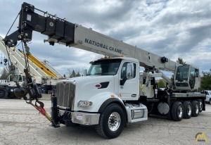 2019 National NBT40-142 40-Ton Boom Truck Crane Mounted on Peterbilt 567