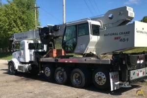 National NBT40142-1 Boom Truck Crane on Peterbilt 367