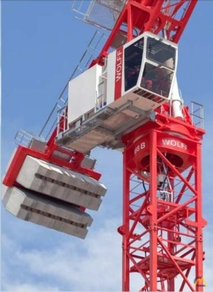2019 Wolff 166 B Tower Crane