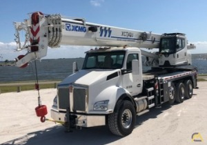 2021 XCMG XCT40U 40-Ton Boom Truck Crane Mounted on 2021 Kenworth T880
