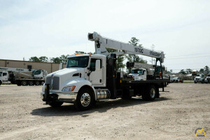 2021 Manitex 1970C mounted to 2022 Kenworth T370 chassis