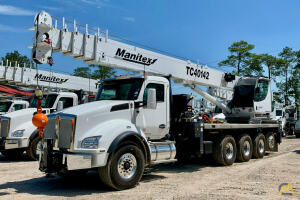 2021 Manitex TC40142 mounted to 2021 Kenworth T880 chassis