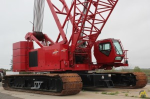 220t Manitowoc 14000 Lattice Boom Crawler Crane
