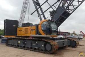 Sany SCC8200 220-ton Lattice Boom Crawler Crane