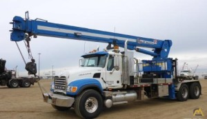 WELDCO HYDRA-LIFT WHL23CT75 Boom Truck on Mack GRANITE CV713