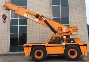 Broderson IC-400-3A 25-Ton Carry Deck Crane