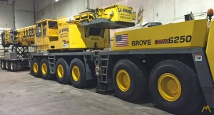 250t Grove GMK6250-L All Terrain Crane