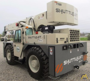 25t Shuttlelift CD7725 Carry Deck Crane