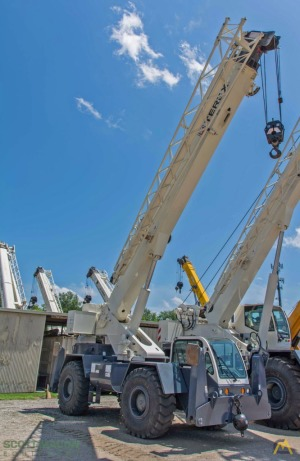 25t Terex CD225 Rough Terrain Crane