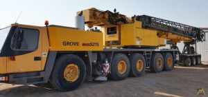 275t Grove GMK5275 All Terrain Crane
