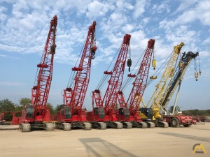 PRICES REDUCED - (3) Manitowoc 8500 85-Ton Lattice Boom Crawler Cranes Available