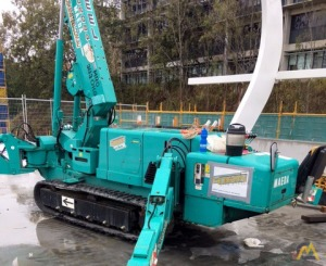 3.8t Maeda MC405C Mini Crawler Tracked Crane