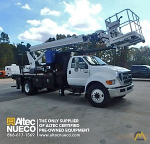 300 lb. Altec LS63 Telescopic Boom Lift