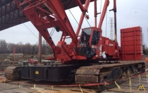 300t Manitowoc M250 III Lattice Boom Crawler Crane