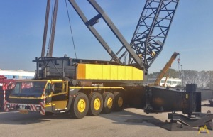 330t Italgru AG 1800 Lattice Boom Truck Crane