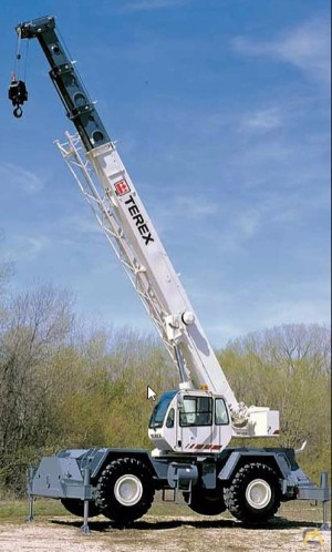 35t Terex RT 335-1 Rough Terrain Crane
