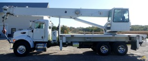 38t Altec AC38-127S Boom Truck Crane on Peterbilt 335