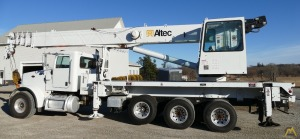 38t Altec AC38-127S Boom Truck Crane on Peterbilt 365