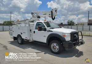 400 lb. Altec AT37-G Bucket Truck