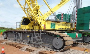 Sany SCC4000E 400-ton Lattice Boom Crawler Crane