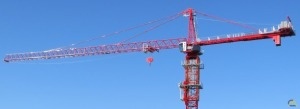 Potain MD 689 M40 44-ton Hammerhead Tower Crane