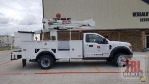 0d35fc25a7 45  Versalift SST-40-EIH-01 Bucket Truck on Ford F-550 SOLD Boom ...