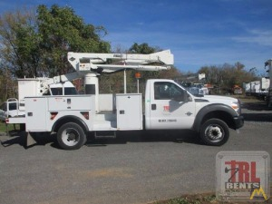 45' Versalift SST-40-EIH Articulating Bucket Truck on Ford F-550