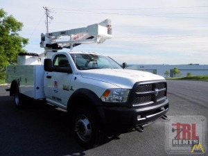 45' Versalift SST-40-EIH Bucket Truck on Dodge 5500