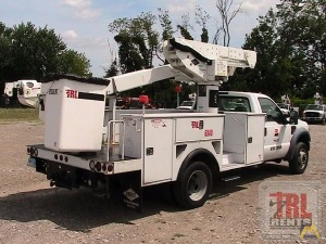 45' Versalift VST-40-SI Articulating Bucket Truck on Ford F-550
