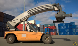 45t Liebherr LRS 645 Reach Stacker