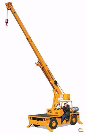 4t Broderson IC-35-2G Carry Deck Crane