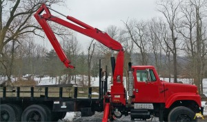 5,400 lbs. IMT 1331 Wallboard Loader Crane