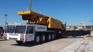 Demag TC 3300 500-ton Lattice Boom Truck Crane