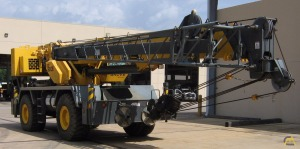 50t Grove RT600E Rough Terrain Crane