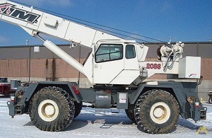 50t Terex RT 450 Rough Terrain Crane
