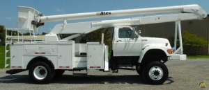 55' Altec AN755 Articulating Bucket Truck on Ford F-Series