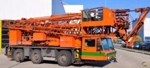 Spierings SK365-AT3 5-Ton Mobile Tower Crane