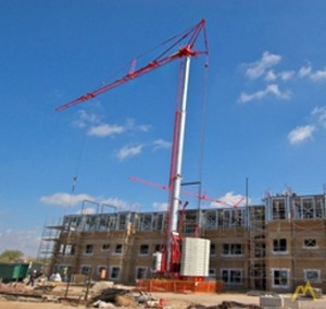 6.61t Potain HDT 80 Tower Crane