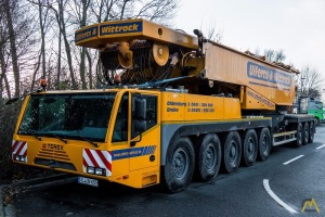 Terex Demag TC 2800-1 600-ton Lattice Boom Truck Crane