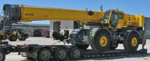 60t Grove RT760E Rough Terrain Crane
