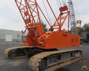 Hitachi KH230-3 60-Ton Lattice Boom Crawler Crane