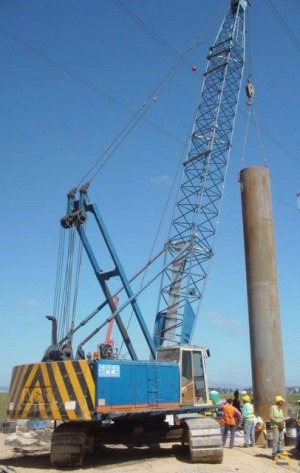 NCK NOVA HC65 65-Ton Lattice Boom Crawler Crane