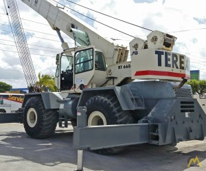 65t Terex RT665 Rough Terrain Crane
