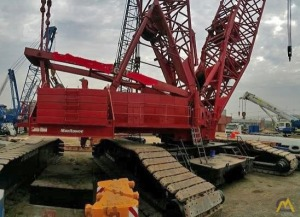 Manitowoc 18000 660-Ton Lattice Boom Crawler Crane