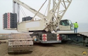 660t Terex-Demag CC 2800-1 Lattice Boom Crawler Crane