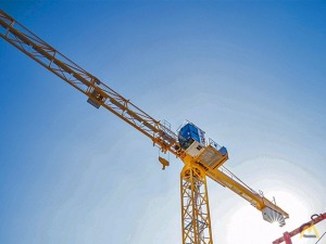 Potain MDT 109 6-ton Flat Top Tower Crane