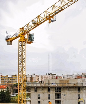 Potain MDT 139 6-ton Flat Top Tower Crane